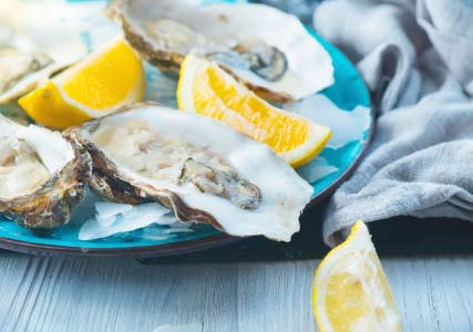 best sex drive food oysters