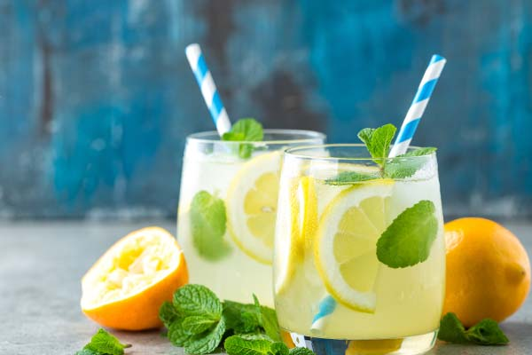 lemon water mfine