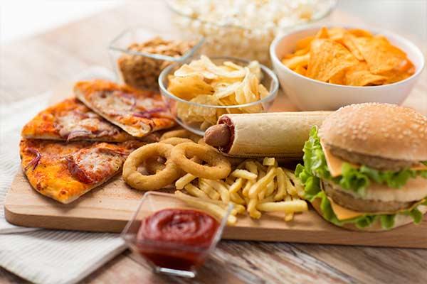 obesity facts junk food mfine