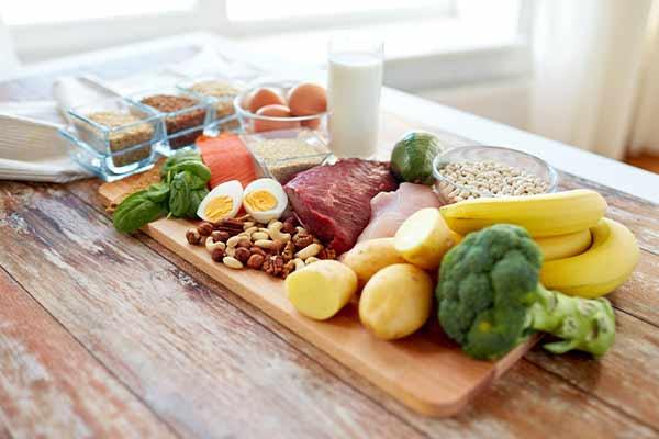 Balanced diet dehydration remedy