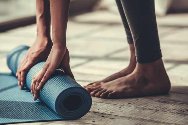 practising yoga for joint pain mfine