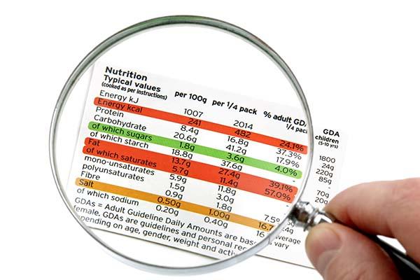 important information on labels mfine