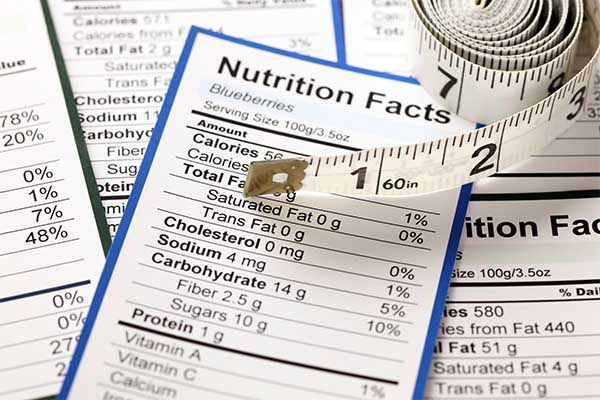 food labels nutrition facts mfine