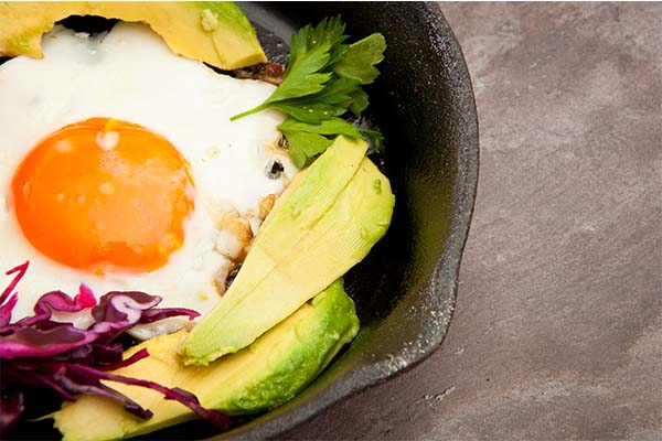 egg avocado veggies mfine