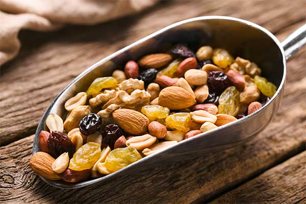 trail mix post-workout foods mfine