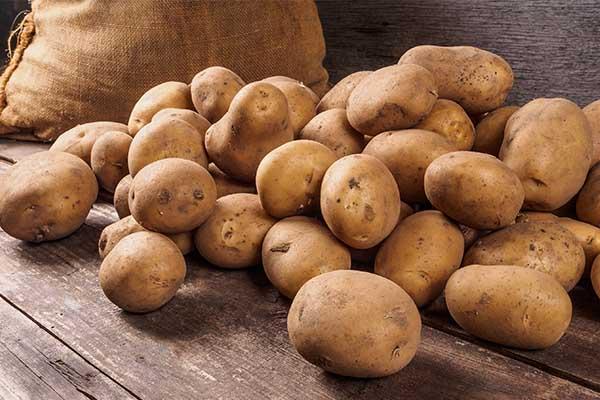 potatoes starchy mfine