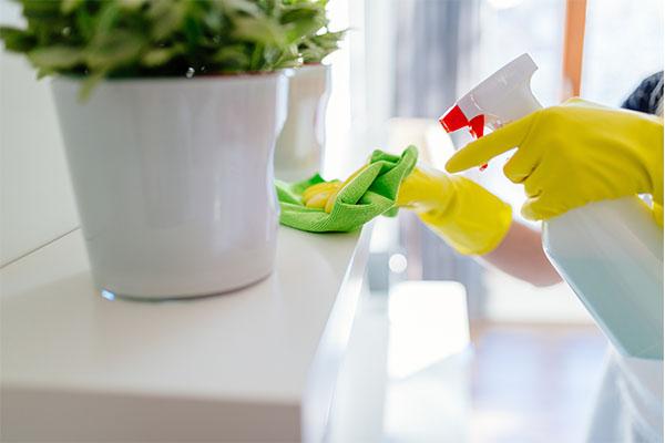 coronavirus prevention cleaning mfine