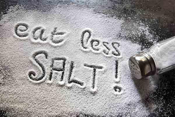 eat less oil and salt mfine