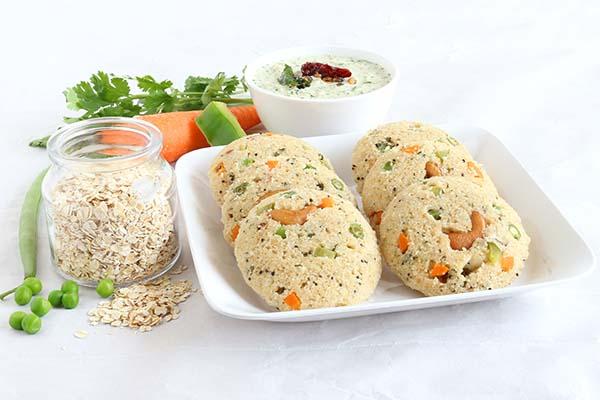 oats idli healthy holi snacks mfine