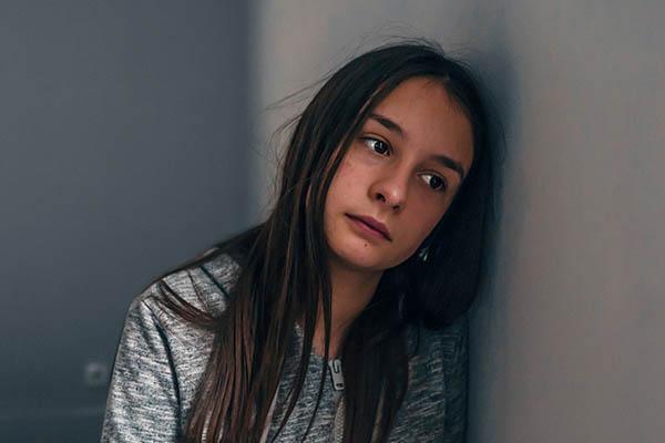 women's mental health sad teen mfine