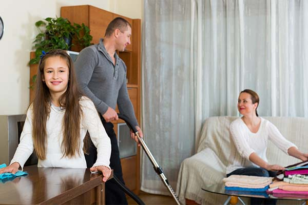 family share responsibilities and chores mfine