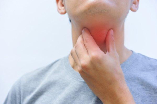 sore throat past covid mfine