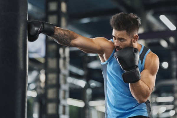 sports activities at 30s boxing mfine