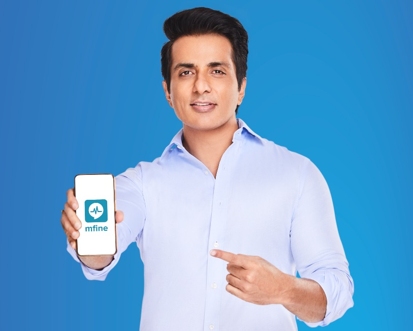 Actor Sonu Sood endorses MFine to encourage the use of telemedicine