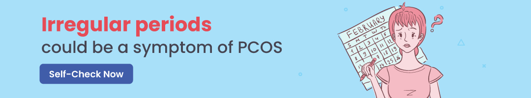 irregular period pcos self check mfine