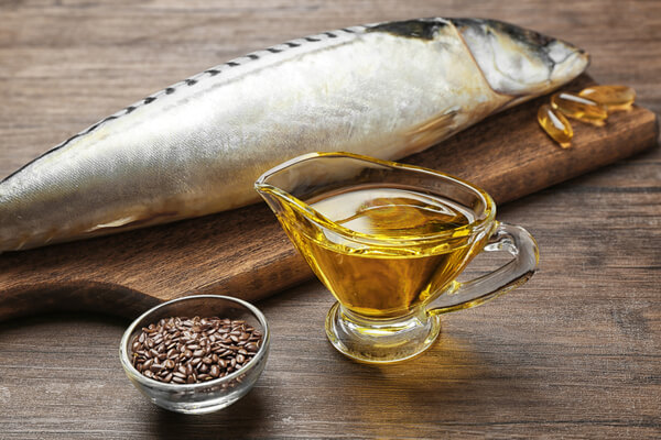 shrink a goiter naturally - fish oil